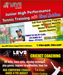 Junior high performance Tennis Training